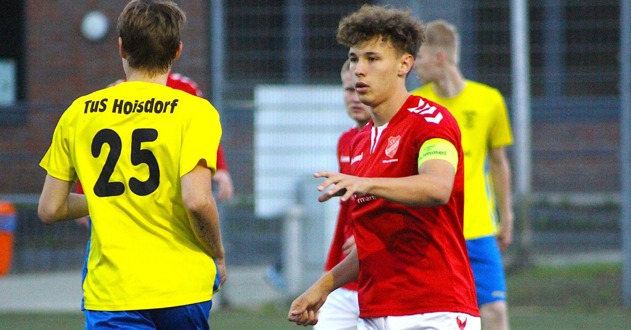 5:0-Sieg beim TuS Hoisdorf: SV Eichede zieht ins Viertelfinale des Kreispokals ein