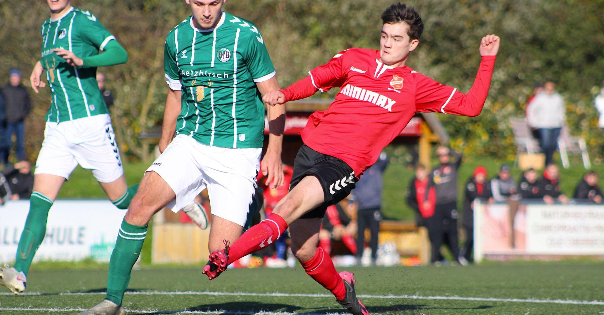 Nach 4:4-Remis beim VfB Lübeck: U19 des SV Eichede Überwintert auf Platz zwei